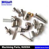 CNCの機械化の部品ねじ機械化の部品の回転部品