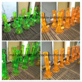 Conduites d'eau de fumage de becher en verre de peinture de 12 pouces
