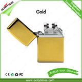 Ocitytimes 형식 디자인 재충전용 USB 점화기 또는 전기 담배 점화기 또는 두 배 아크 라이트
