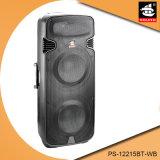 Doppio un suono ad alta fedeltà professionale da 15 pollici con l'altoparlante senza fili PS-12215bt-Wb di Bluetooth