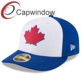 Die Ahornblatt-Baseballmütze mit kundenspezifischem Aufkleber