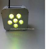 Draadloze Navulbare 10 LEIDENE het op batterijen van de Vierling van Watts PARI kan 60W Uplight aansteken