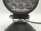 Ronda 42W/proyectores manchas de luz LED de trabajo para el Offroad Jeep (GT2003-42W)