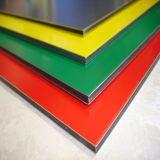 Painel Composto de alumínio pintadas de PVDF para revestimento de paredes exteriores