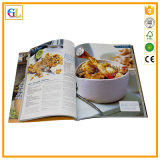 紙表紙の料理書の印刷サービス(OEM-GL030)