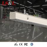 LED Lustre linéaire pendentif suspendu au plafond de lumière pour l'éclairage intérieur