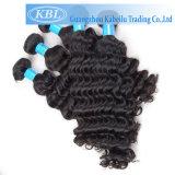 Livre brésilien de perruque de cheveu de tressage d'Elegante Remy de densité de 80%