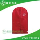 Hot vender transpirable plegable cubierta de la bolsa de ropa vestido de traje con asas la escuadra de viajes