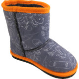 Ботинки снежка зимы мальчиков с TPR Outsole