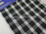 Tessuto tinto del ringrosso dell'assegno del filo di cotone per Shirt-Lz6265