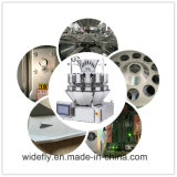 Clavo del hierro pila de discos la balanza electrónica