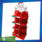 Weihnachtsgeschenk-Kasten, Weihnachtsfenster-Bildschirmanzeigen, Weihnachtsausstellungsstand