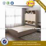 Armário de madeira Mobiliário de quarto de cama Cabeceira Conjuntos (HX-8nr1113)