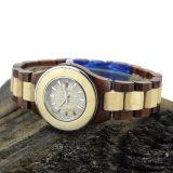 Orologi di legno del quarzo del nuovo uomo di stile per il regalo di natale