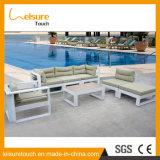 Mobília ajustada do alumínio do jardim do sofá ao ar livre moderno do pátio da cadeira da sala de estar da HOME do hotel do lazer
