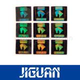 Изготовленный на заказ ярлык Hologram обеспеченностью квадрата любимчика конструкции логоса
