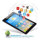 2017 Goedkoopste PC van de Tablet met Groef SIM 7 Duim met de Overeenkomst van Google Mada