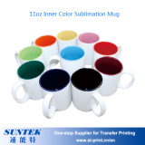 Taza en blanco de cerámica del color para la transferencia de la sublimación