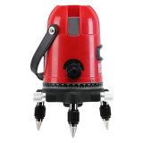 1V1h le rouge 2 raye l'anti niveau rotatoire de laser du rouge trois