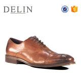 Precio de fábrica de encaje hasta los hombres de moda los zapatos de cuero