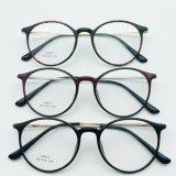 Occhiali d'acciaio di plastica di Eyewear dei telai dell'ottica di modo con il tempiale del metallo