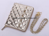 Les dames métalliques portent le sac de cas avec le miroir pour la tablette PC