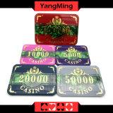 microplaquetas plásticas do póquer 760PCS ajustadas (YM-FOCP001)