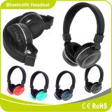 De vouwbare Promotie Draadloze StereoFM van de Kaart van het Geheugen van de Steun van de Hoofdtelefoon Bluetooth