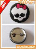 Cmykによって印刷されるロゴ(YBsu98)のカスタマイズ可能なサイズの錫ボタンのバッジ