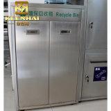 De duurzame Bak van het Afval van het Recycling van de Bak van het Afval van het Roestvrij staal Openbare