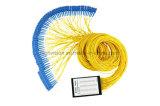 1X64 de aBS-Doos van de vezel Optische PLC Splitser