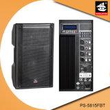 15 Zoll PROaktiver Plastiklautsprecher PS-5815fbt USB-200W Ableiter-FM Bluetooth EQ