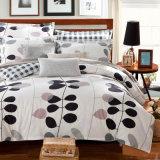 安い価格の綿の寝具の花の印刷された羽毛布団カバーセット