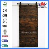 Geformte Außentoiletten-festes Holz-Stall-Plastiktüren