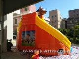 Aufblasbares Wasserplättchen des heißen Wasserparks des Spielzeugs der Verkaufstatzehundepatrouille aufblasbaren beweglichen für Ereignis