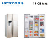réfrigérateur ouvert de stand de double porte d'étalage de C.C 110V