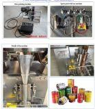 Suger vertical automatique complète du café de sel pop-corn Spice Snus Snack Food Sachet poudre pochette de l'emballage de la machine de remplissage automatique