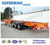 48FT dei tre assi del blocco per grafici rimorchio di scheletro del camion semi da vendere/contenitore