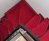 Крюк и петли ворса плечевой лямки ремня безопасности в помещении лестницы ковер/ ковров
