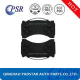Almofada de freio resistente do caminhão das auto peças sobresselentes do Não-Asbesto