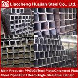 Los cuerpos huecos de acero galvanizado en caliente del tubo de SHS