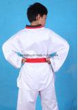 Костюм Taekwondo длинней втулки высокого качества равномерный с Waistband
