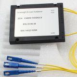 WDM Fwdm de fibre optique pour la connexion de FTTH