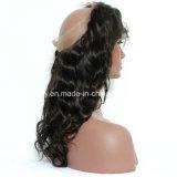 Виргинские Перу волос 360 волнистые волосы Lace Frontals пред Plucked с ребенком волос