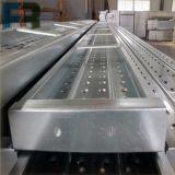 Plancia d'acciaio 230*63*1800 per l'armatura