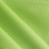 Stof van de Polyester PVC/PU van de Netten van de Diamant van Oxford de Glanzende
