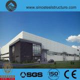 세륨 ISO BV SGS에 의하여 전 설계되는 강철 건축 창고 (TRD-075)