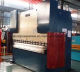 Freno hidráulico automático de la prensa del metal de hoja del mejor precio de 125 toneladas