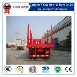 del transporte 45t acoplado de madera semi de la fábrica de China