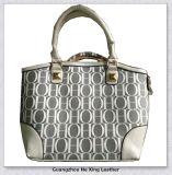 Couro sintético de PVC de design de moda para Lady Bag